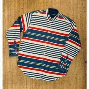 Vintage Nautica Button Up
